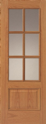 JB Kind 12-6VM Oak (Finished) Door